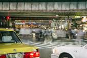 Traffic in tokyo — Stock Photo