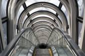 Escalators in Umeda Sky Building — Stock Photo