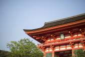 Red Japanese Temple — Stock Photo