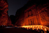 Monestry at Petra, Jordan — Foto de Stock