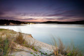 Lake by the sea — Stockfoto