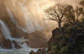 Epupa Falls Kunene River — Stock Photo
