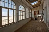 House interior in Kolmanskop — Stock Photo