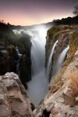 Epupa waterfall — Stock Photo
