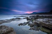 Morning over a costal region — Stock Photo