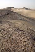 Sand storm in Sossusvlei — Stock Photo