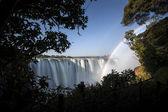 Victoria waterfall — Stock Photo