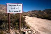 Danger ahead — Stock Photo
