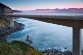 Sea cliff most — Stock fotografie