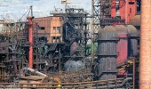 Paesaggio industriale — Foto Stock