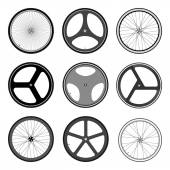 BICYCLE WHEEL — Stock Vector