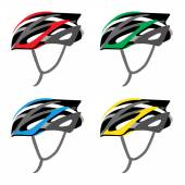 BICYCLE SAFETY HELMET — Stockvektor
