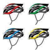 BICYCLE SAFETY HELMET — Vettoriale Stock