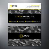 Modern Business card Design Template — Stock Vector