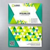 Σύγχρονη επαγγελματική κάρτα πρότυπο σχεδίασης. — Διανυσματικό Αρχείο