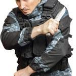 Постер, плакат: Soldiers in camouflage