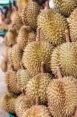 Durian nel mercato — Foto Stock