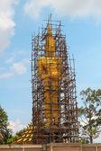 Buddha under construction — Stock Photo
