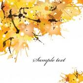 Autumn blots — Stock Vector