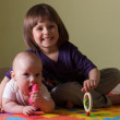 Little boy and girl — Stock Photo #56185077