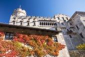 Buonconsiglio castle and museum in Trento — Stock Photo