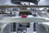 Three dimensional printing machine — Stock Photo