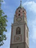 Merano Bell Tower, Sud Tirol — Stock Photo
