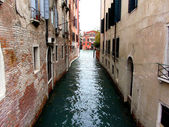 Venice water alley — Stock Photo