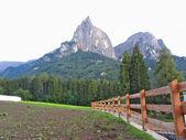 Vue panoramique sur la montagne — Photo