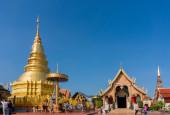 Lampang , Thailand- Nov 24, 2014: Amazing architecture of Wat Ph — Stock Photo