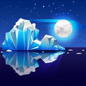 Iceberg4 — Stock Vector