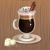 Hot chocolate 2 — Stock Vector