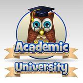 Academic University icon — Stockvector