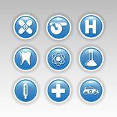 медицинские символы — Cтоковый вектор