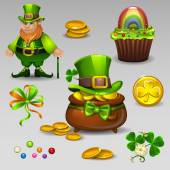 St Patricks set 2 — Stock Vector