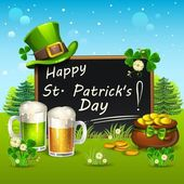 Happy St Patrick Day — Stock Vector