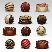 Candies set 3 — Vector de stock