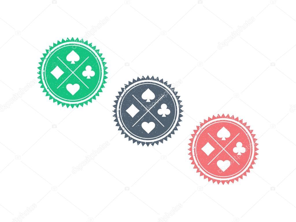 Circle badge template