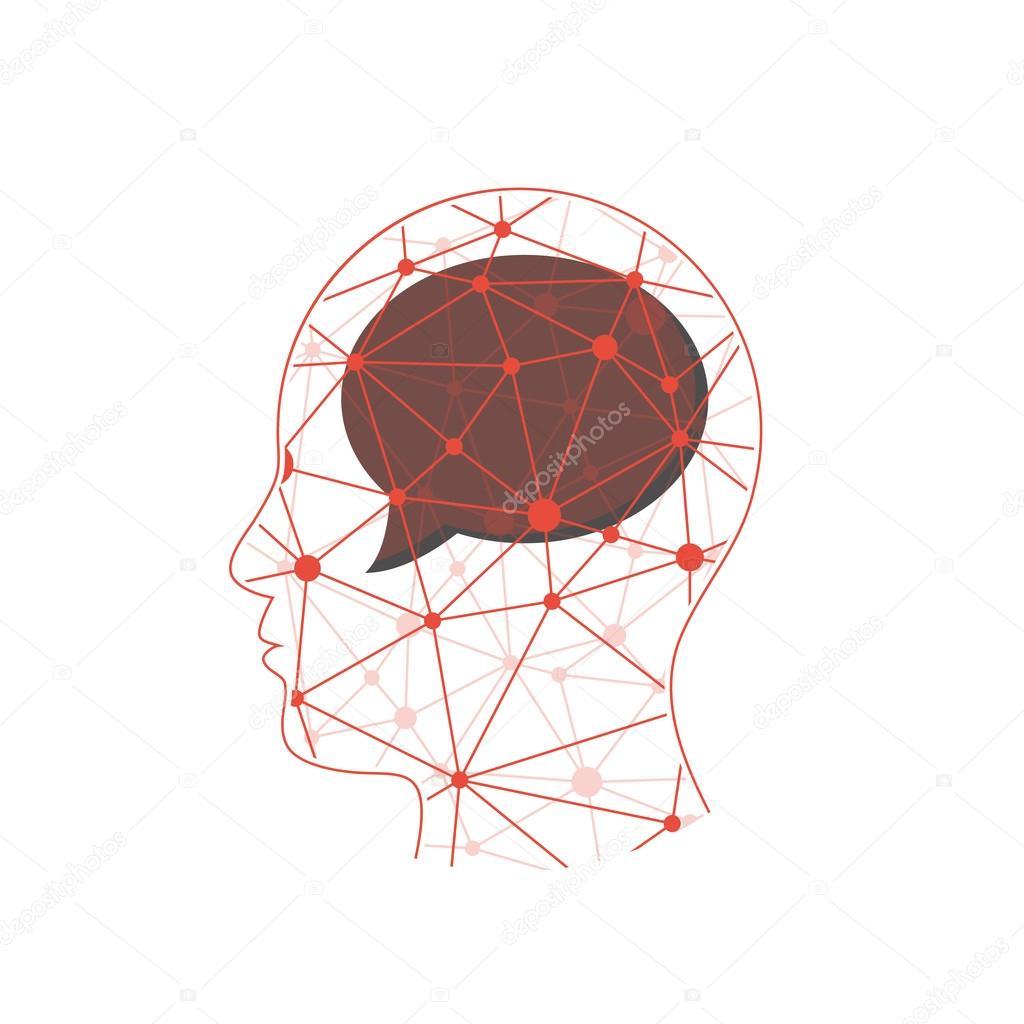шаблон для презентация мозг