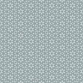 Geometric seamless repetitive particle stars pattern texture background. — Stock Vector