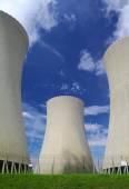 Nuclear power plant Temelin in Czech Republic Europe — Stockfoto