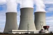 Kernkraftwerk temelin in tschechien europa — Stockfoto