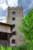Lookout tower Ryzmberk with blue sky in Czech Republic — Stock Photo
