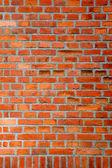 Kırmızı tuğla duvar arka plan — Stok fotoğraf