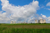 Nuclear power plant Dukovany in Czech Republic Europe — Stock Photo