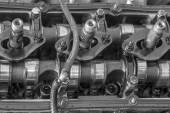 Engine of a car, detail — Stock Photo
