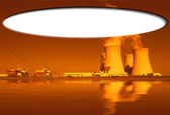 Nuclear power plant Temelin in Czech Republic Europe — Stock Photo