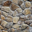 Wall with textured stone blocks — Stock Photo #62651689