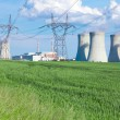 Nuclear power plant Dukovany in Czech Republic Europe — Stock Photo #69541917