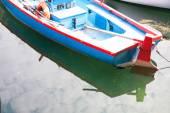 Boats moored in the dock of Lake Garda — Φωτογραφία Αρχείου